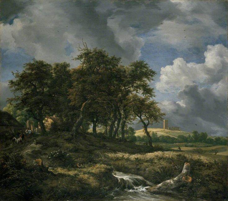 Jacob van Ruisdael - Landschap bij Muiderberg