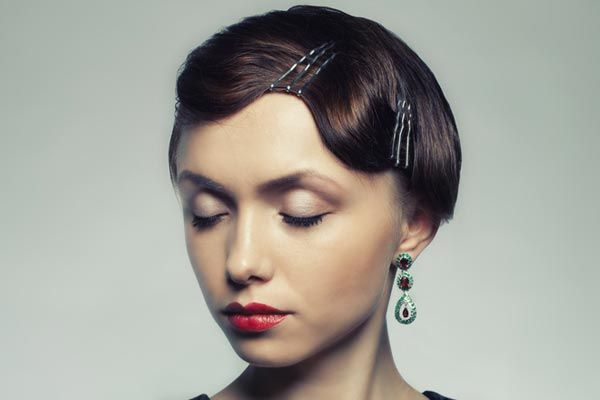 Finger Wave Hair Styles: 58 Best Vintage Hairstyles Images On Pinterest
