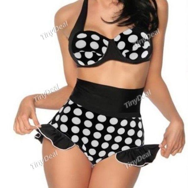 Sports/Outdoor Lycra Polka Dot Sexy Monokini for Women Girl Ladies DSW-273902 http://www.tinydeal.com/fr/sportsoutdoor-px250pz-p-116608.html