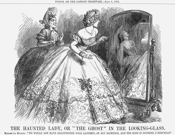 John Punch Lewis : John tenniel punch the haunted lady or ghost in