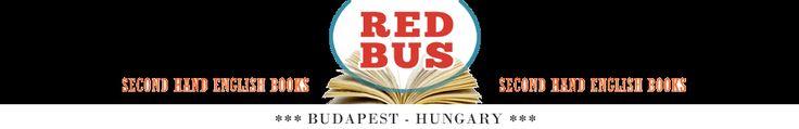 My favorite bookstore in Budapest! Books   RedBusBooks