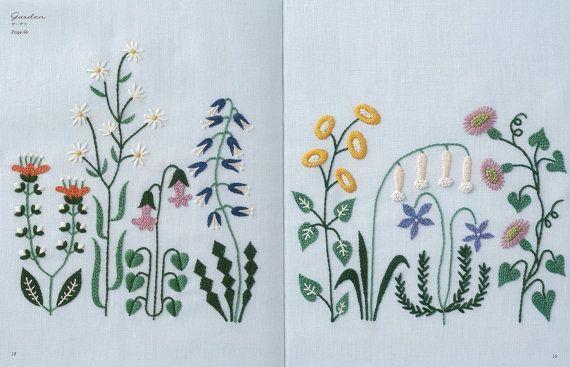 12 maanden borduurwerk door Yumiko Higuchi Japanse door KitteKatte