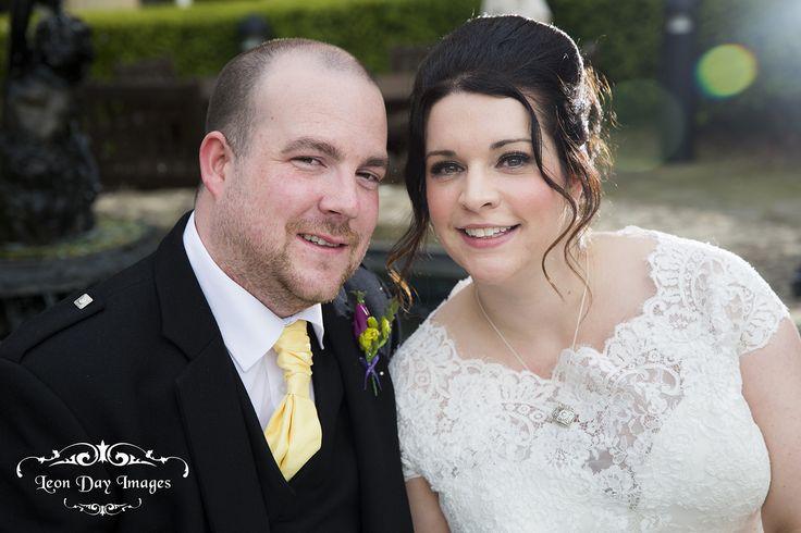 Bride & Groom at the Macdonald Bath Spa Hotel #bride #groom #wedding #bathspahotel