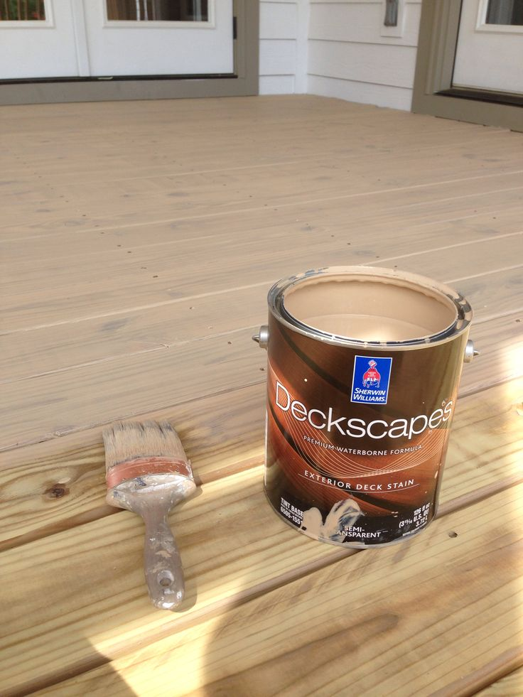 Deck Stain Color Sherwin Williams Baja Beige Semi Transparent Home Projects Pinterest
