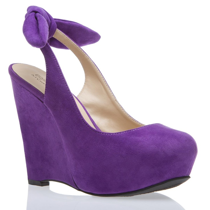 Kirsten Heel - This is how you add a little purple to your life!: Purple Shoes, Shoes Dazzle, Purple Suede, Purple Rain, Purple Velvet, Lady Shoes, Wedges Shoes, Purple Wedges, Velvet Shoes