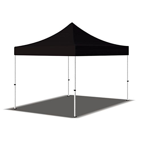 Best 10 x 10 Portable Outdoor Tent Black Portable Canopy Shelter Display Kiosk Black *** Visit the image link more details.