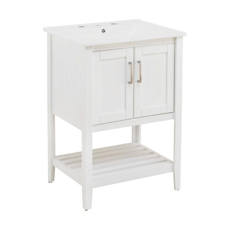 Harmony Vanity White 610mm - Vanities - Bathroom