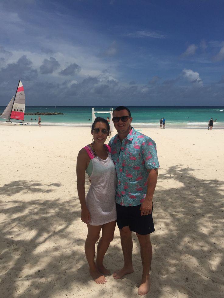 Sara shares amazing memories of her honeymoon in Barbados...