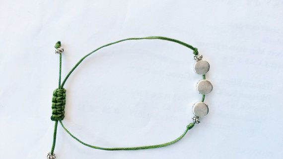 macrame tiny elegant bracelet