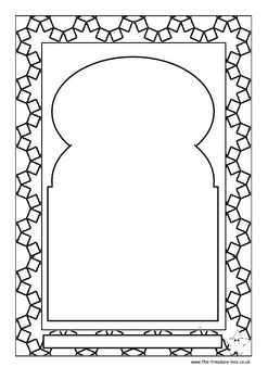 Muslim Prayer Mats ~ an info. guide and craft activity