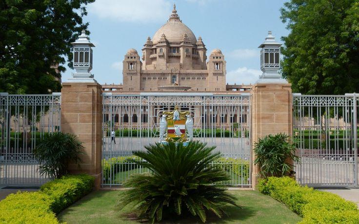 Man Made Umaid Bhawan Palace  Wallpaper