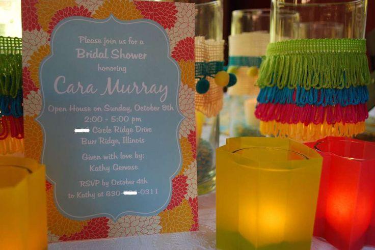 Festive Fiesta Wedding Shower | CatchMyParty.com