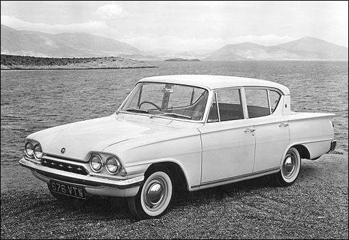 1962 Ford Consul Classic 4 Door