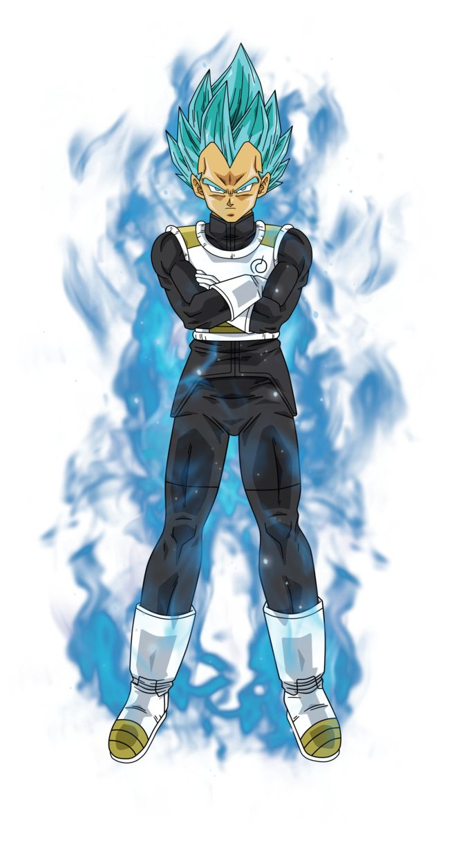 Vegeta super saiyan blue by BardockSonic on DeviantArt ...