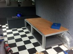 Show us your custom made bed layouts - Page 3 - VW T4 Forum - VW T5 Forum