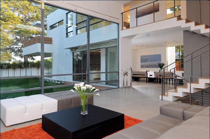 the stunning contemporary design!: Stunning Contemporary, Modern Interiors Design, Small Balconies, Palo Alto, Dreams House, Living Room, Modern Architecture House, Contemporary Living, Contemporary Design