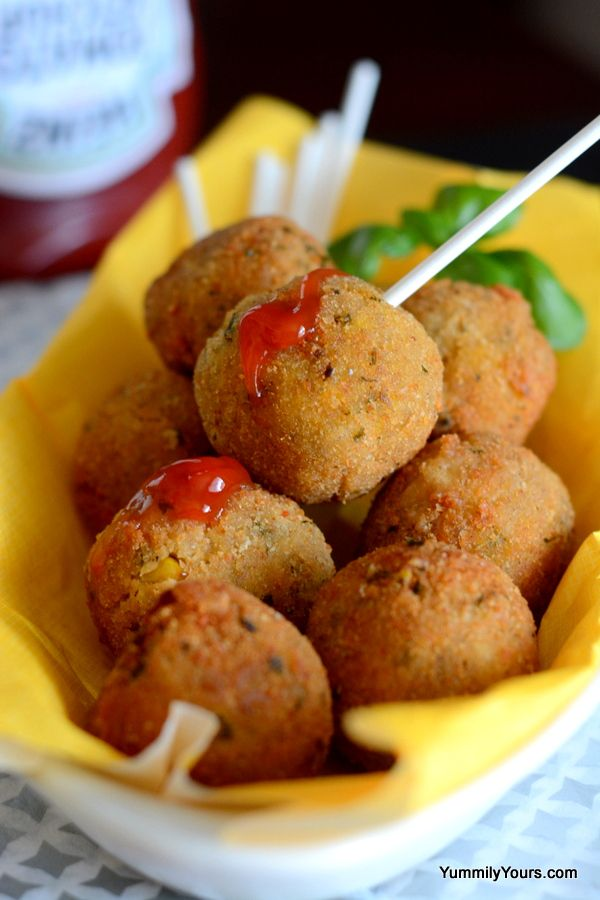 Corn Lollipops. Skip the paneer centre altogether or use a tofu cube for a vegan version.