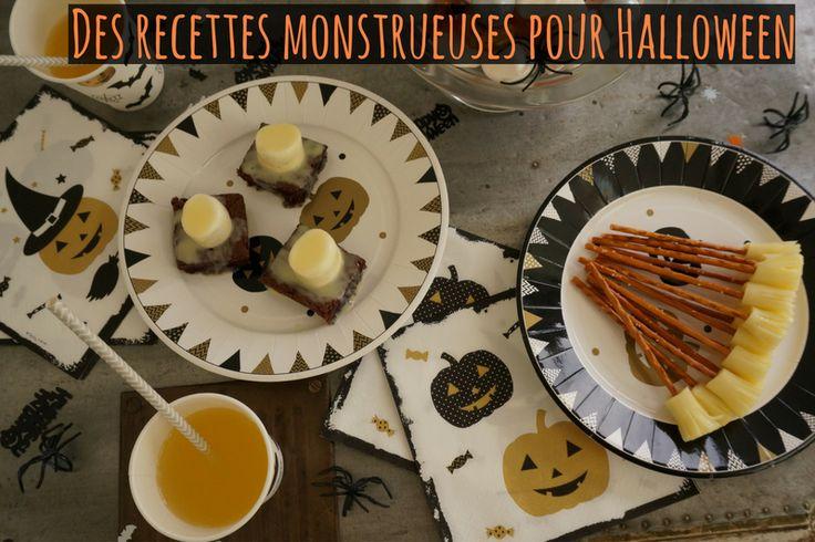 Photo de Une Recettes pour Halloween
