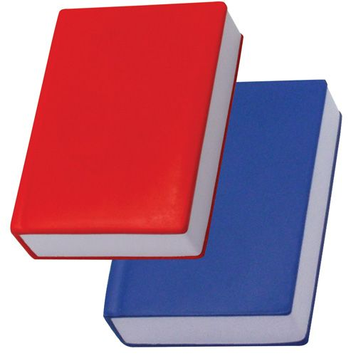 Promotional Book Shaped Stress Reliever