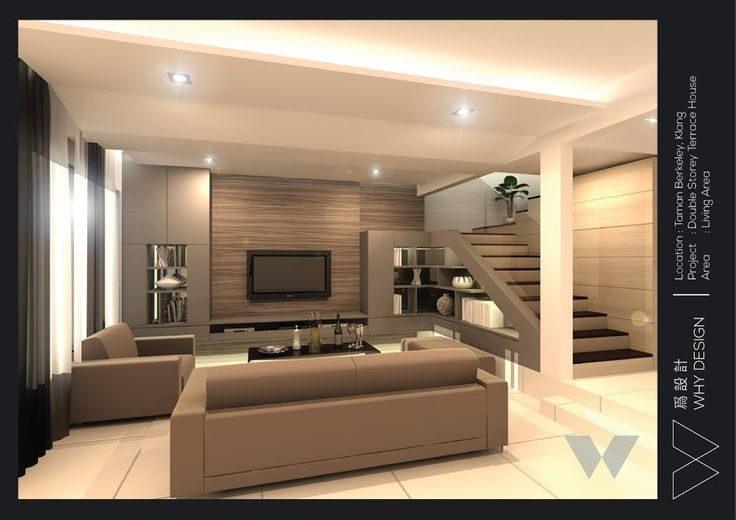 An Old Terrace House Design In Living Area At Klang