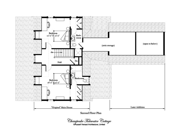 Russell versaci chesapeake tidewater cottage house for Tidewater house plans