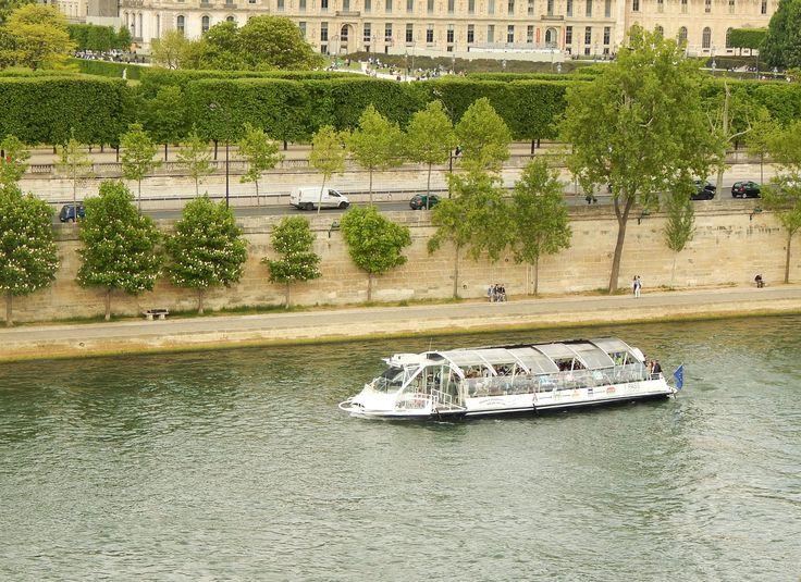 El Sena desde la terraza del Musée D´Orsay, París