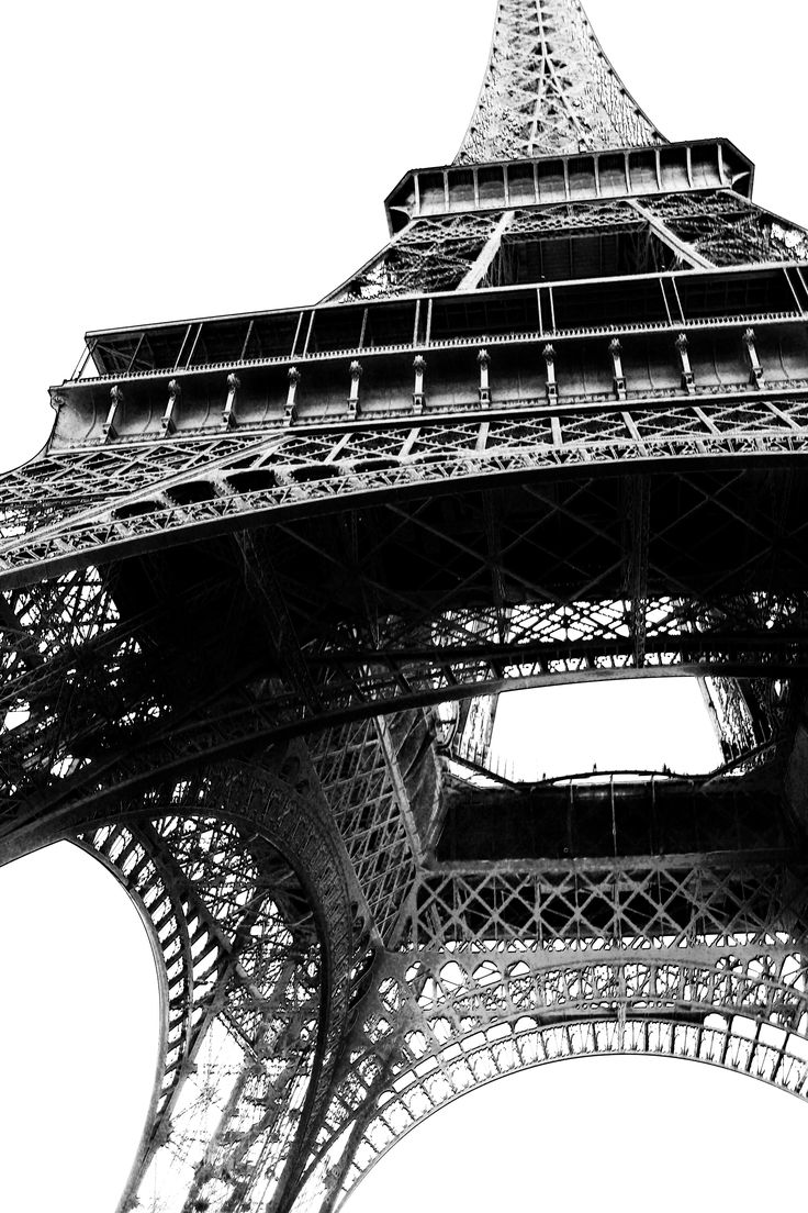 the Eiffel Tower from another point of view