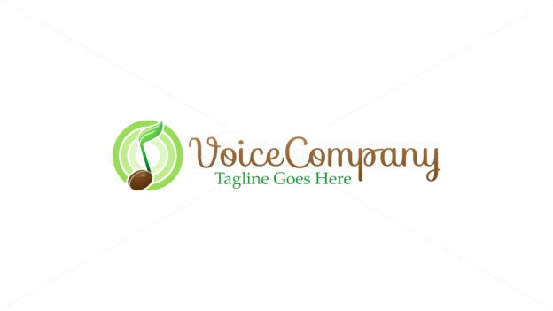 Voice Talent on 99designs Logo Store