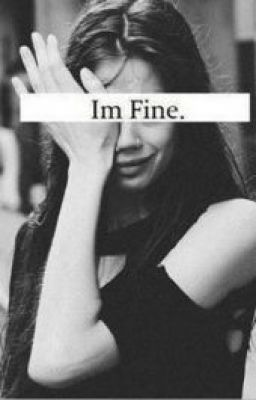 """Definitely me last night. I was far from """"fine,"""" I hate being an emotional wreck. (Not bc of my job lol)"""