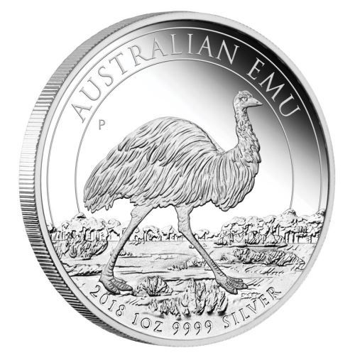 Australian Emu 2018 1oz Silver Proof Coin The Perth Mint Moedas