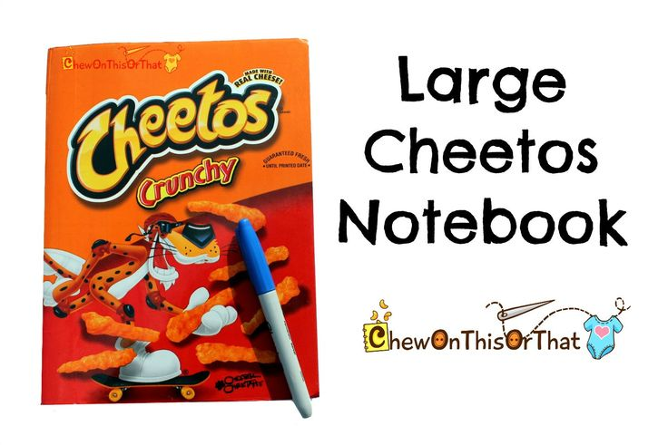 New to ChewOnThisOrThat on Etsy: Large Cheetos Crunchy Composition Notebook for Notes Sketches Planning Lists Challenges and Ideas Upcycled Recycled Remade Book (10.00 USD)