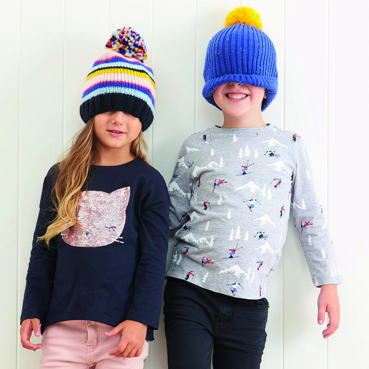 The Pom Pom Beanie will keep any head warm for those icy days and even icier nights! These beanies are sure to keep in the heat and still keep your kids stylish at the same time (not to mention super cute!). The variety of colours and patterns will suit any kid and can be paired back with almost anything from our best selling huggies tights, gusset boots, raincoats or even a puffa jacket to make it extra toasty. Great for gifts all year round.