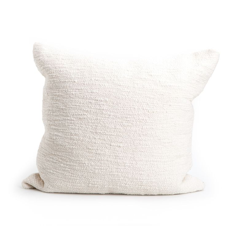 // Rustic Cotton Textured Pillow