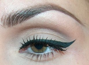 Seriously?  I use liquid eyeliner everyday and I can NEVER get such a sharp line.  How is it done?