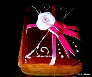Ciasteczkowy potwór: Tort kakaowy z musem czekoladowym