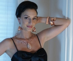 Handcrafted fine art jewelry in Copper. Anticlastic and Fold Formed bracelets and earrings.    Handcrafted  Copper Jewelry