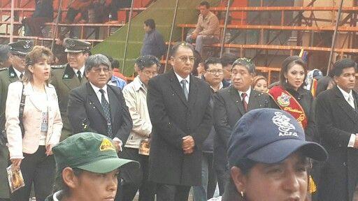 Autoridades de #Oruro