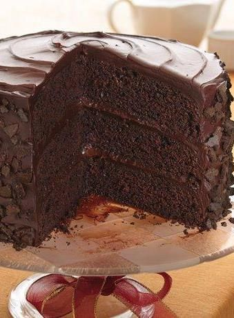 Did you know coffee and spices can help enhance chocolate flavors in recipes? This one includes brewed coffee for that very reason! Crunchy cookie crumbs add decadence and a fun texture to this layered chocolate cake.