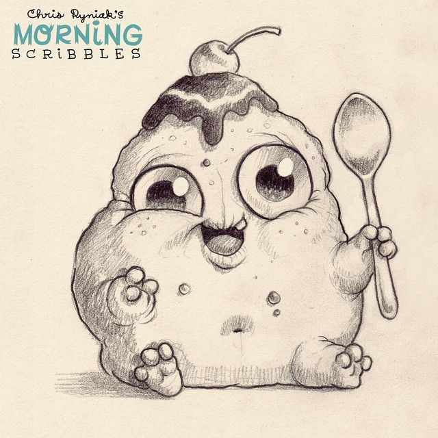 the gallery for gt cute monster drawings
