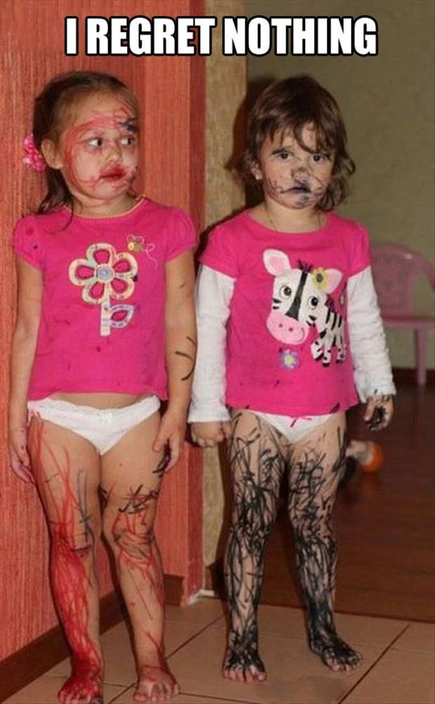 Funny Pictures Of The Day – 91 Pics.  Who has a daughter that never did this??