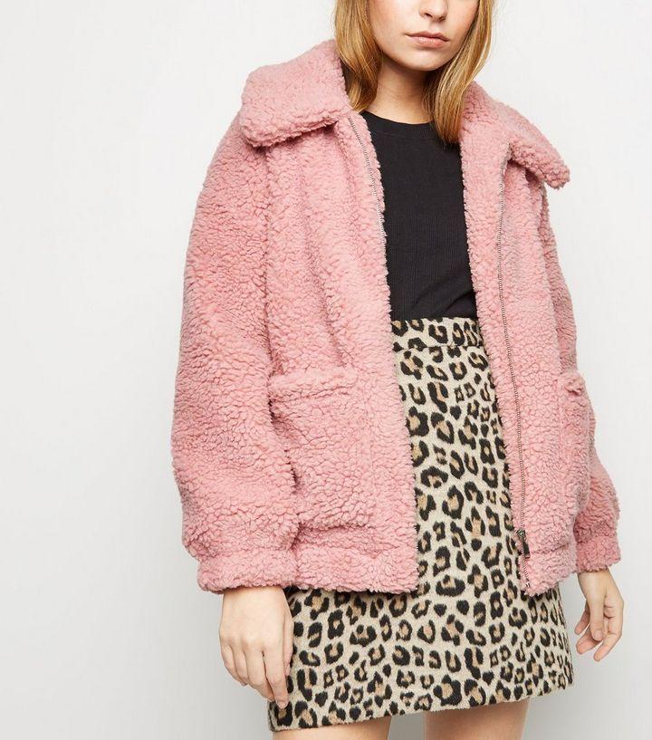 PETITE Borg Coat | Cold fashion, Fashion, Cute winter coats