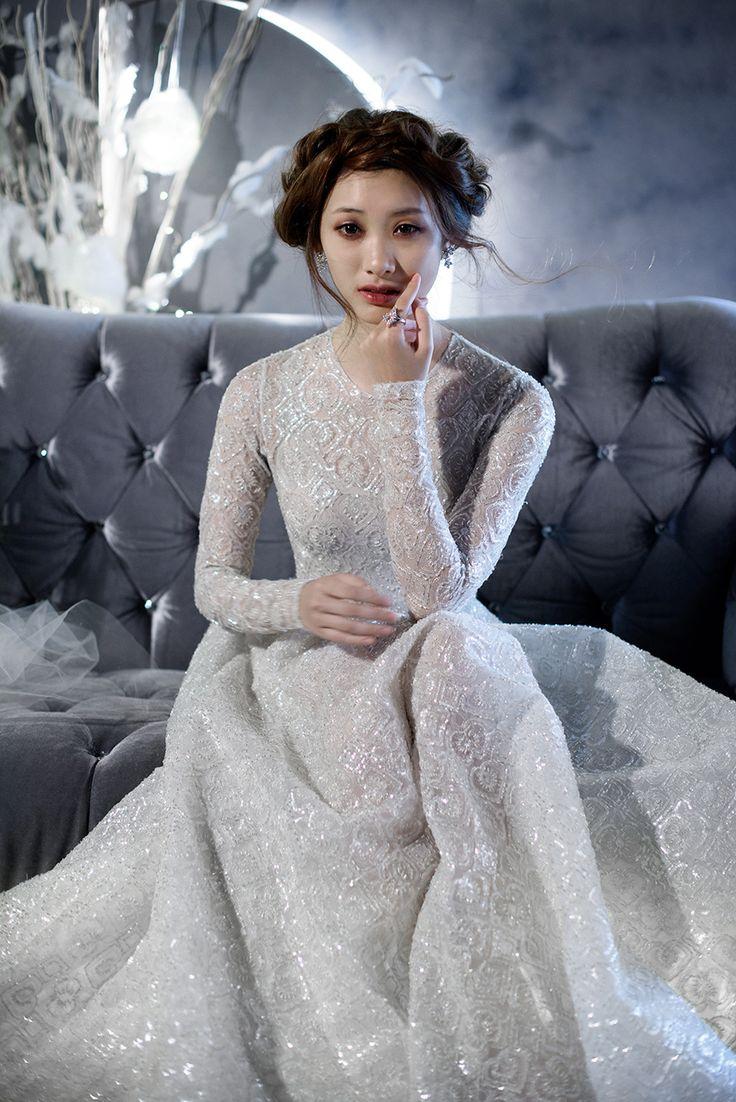 Giuliana rancic 2014 oscars paolo sebastian dress - Winter S Night Wedding Inspiration With 3 Paolo Sebastian Gowns