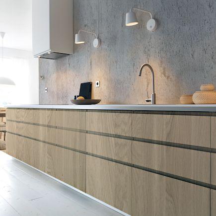 De series massief houten keukenfronten die Houtmerk aanbiedt zijn toe te passen…