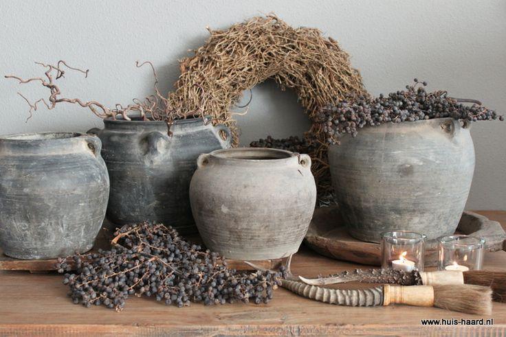 1000 images about oude kruiken en vazen op pinterest for Landelijke woonaccessoires