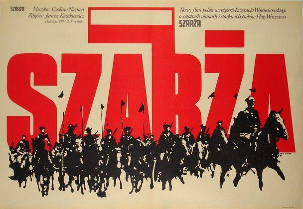 Charge Szarza Erol Jakub Polish Poster