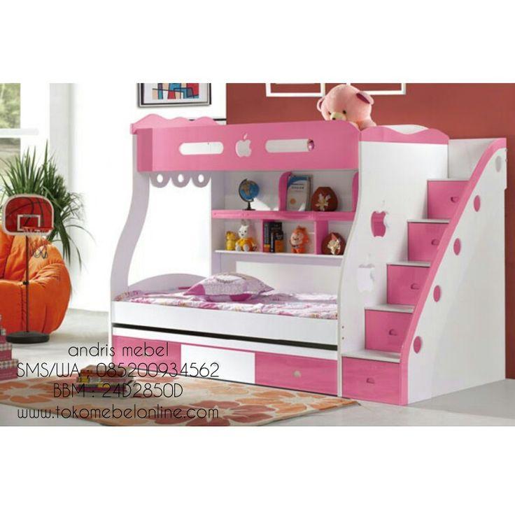 Tempat tidur anak tingkat produk yang sangat disukai orang saat ini, dengan tampilan yang menarik dan kualitas yang bagus. Dapatkan produk tempat tidur anak tingkat dengan cara memesan disini. Hp : 085200934562 Pin bbm :24d2850d