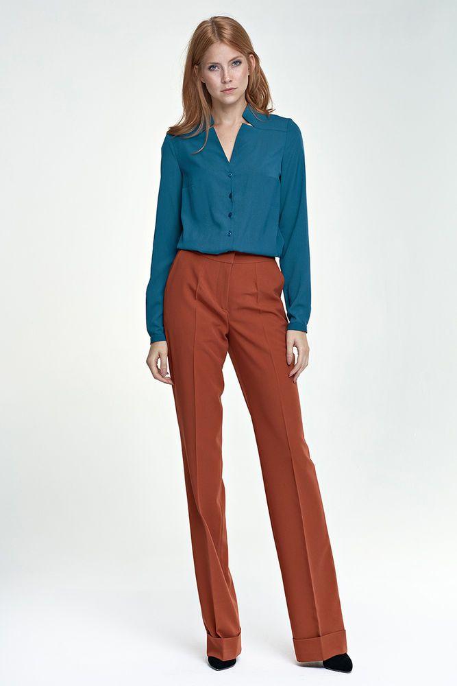 Pantalon mode femme habillé coloré SD26 NIFE 36 38 40 42 44 neuf #Tailleurhabill