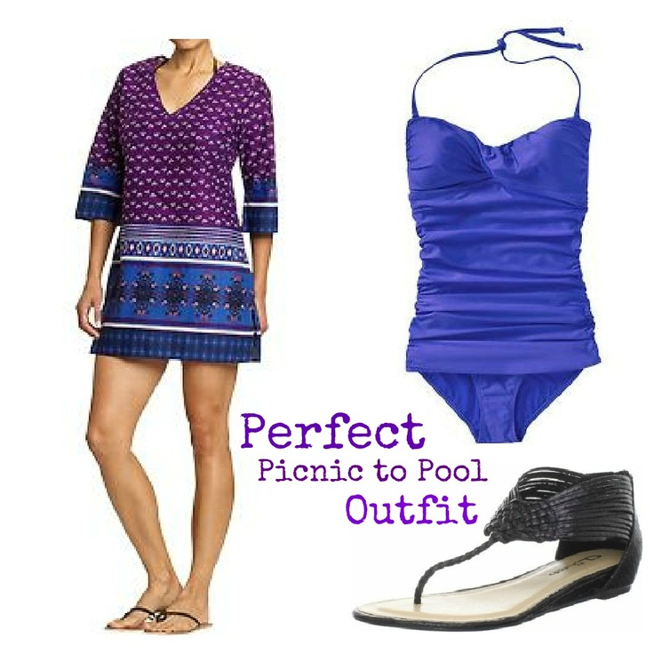 Perfect Picnic to Pool Outfit