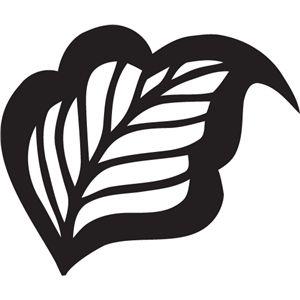 Silhouette Design Store - View Design #5487: filigree leaf