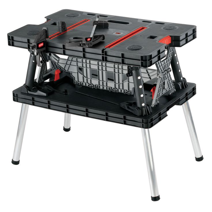 Keter Foldable Workbench, (W)85cm   Departments   DIY at B&Q